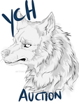 YCH- AUCTION- Headshot picture- CLOSED by ArthasElric