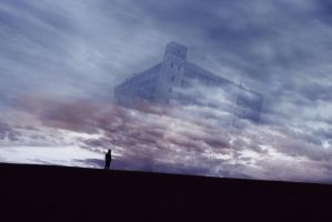 A different castle in the sky by SprenklePhotography