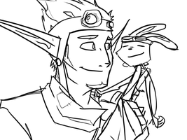 RANDOM Jack And Daxter by DPPHAN