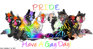Pride - Have a Gay Day update by CalicoWoolfe