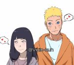 NaruHina sketch by vicio-kun
