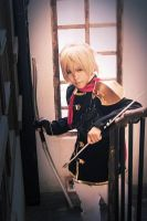 FInal Fantasy Type 0 Trey - target by dark1110