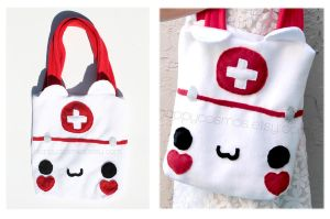 Nurse Cat Bag by CosmiCosmos