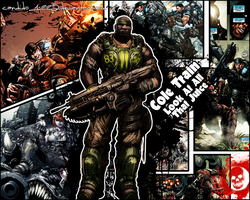 Gears of War - Cole Wallpaper by Candido1225