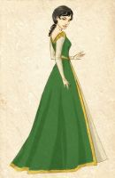 Lady Speardrake at court by SoniaCarreras