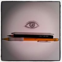 First eye realism attempt by RevoltingArts