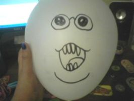 PHIL FACE balloon by TootsieRoIIs