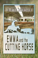 Emma and the Cutting Horse - Book Cover by SBibb