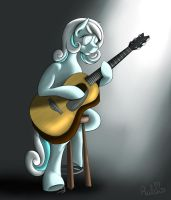 Snow Guitar by Rulsis