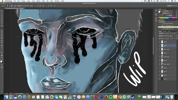 Open your eyes W.I.P by Henry-789
