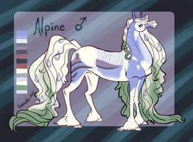 Alpine Reference Sheet by Kama-ItaeteXIII