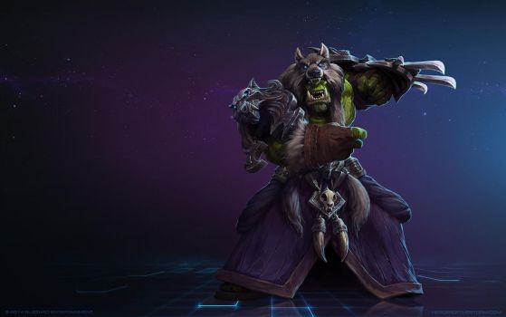 Rehgar Earthfury, Shaman of the Earthen Ring by Mr--Jack