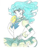 Sailor Neptune Commission by Zanny-Marie