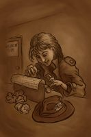 Annie Get Your Typewriter by rillani