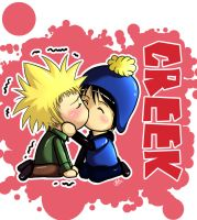 Creek Chibi-South Park by Azareea
