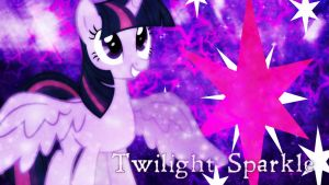 Twilight Sparkle Desktop Wallpaper! by 4EverRandomPuppy20