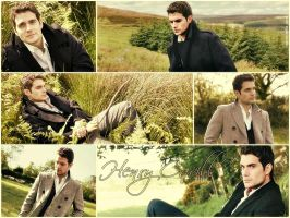 Henry Cavill Wallpaper by stellar-raven