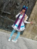 Once again Stocking cosplay! by PinapplesAddict