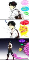 Attack on Levi by Scribblerb