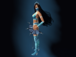 Kitana MK9 render Part 2 of 3 by Jfr12391