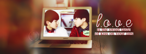 [Cover facebook] Karry and Roy - TFBOYS by cat-b3bi