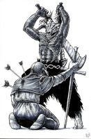 This is Dark Souls by Tristan-Despero