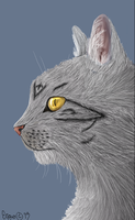 Realistic Cat by Ergonomic-Wasteland