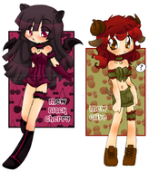 TMM - Mew Black Cherry + Olive by Ai-Bee