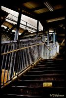 Subway Stairs by IzIBu