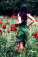 Motion and Poppies by Prithvi-Enoch