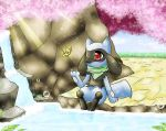 PMD, Riolu Discovers The Secrets In Beach Cave... by DrawerElma