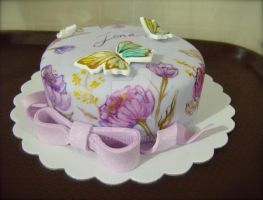 hand painted fondant by alcat2021