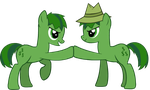 My Little Tree Friends: Lifty and Shifty by PrancingToothbrush