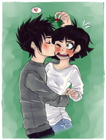 Under the mistletoe by jailbaitCAT