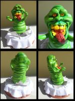 Slimer Ghostbusters by Roxashearts