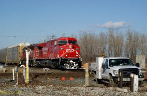 CP Auto Train on the IHB by JamesT4