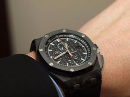 Cool Black Men's Audemars Piguet chronograph watch by ailsalu