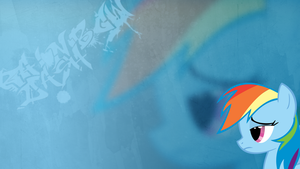 Rainbow Dash Wallpaper by Vixolof96