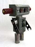 Buttons - Robot Sculpture by adoptabot