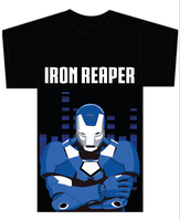 IRON REAPER Design 1 On T-shirt Template by CreativeDyslexic