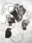 Sketch Collage [Phone Quality] by Advent-Axl