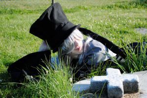 Undertaker Laying With The Dead by rawien