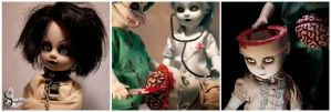 Surgery - Brain Extraction by Papillon-Noir-Art