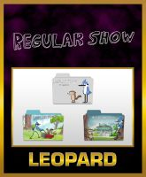 Leopard Regular Show Folders by TMacAG