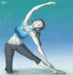 Wii Fit Trainer by xerpentv