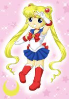 Chibi Sailor Moon by Dawnie-chan