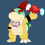 Bowser Jr by DoubleBacklace