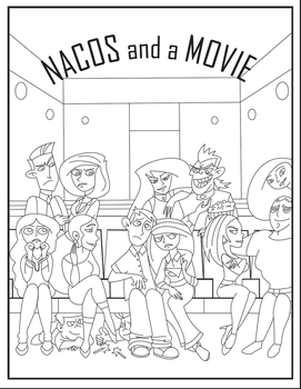 Nacos and A Movie Cover by Sharper-The-Writer