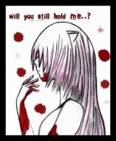 ElfenLied.Will u still hold me by Mahadesu