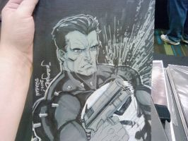 DragonCon sketch Punisher by thejeremydale